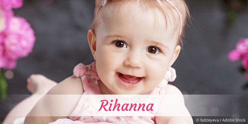 Name Rihanna als Bild