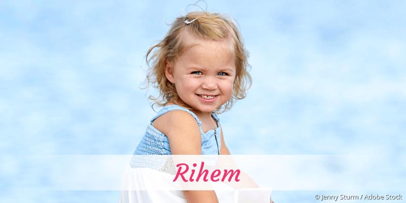 Name Rihem als Bild