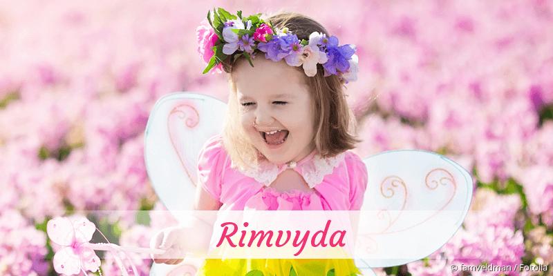 Name Rimvyda als Bild