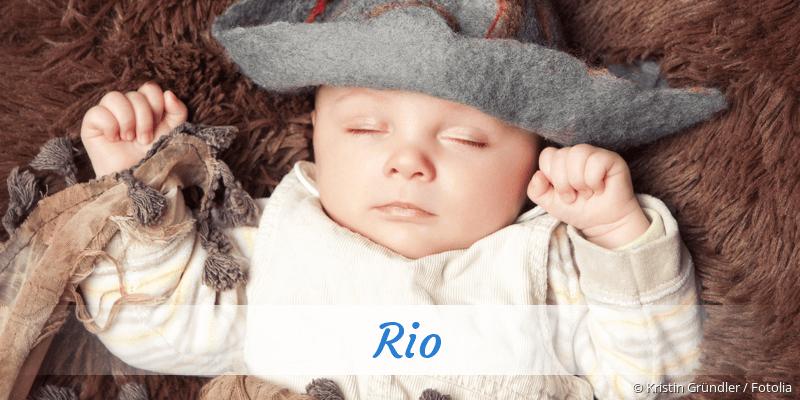 Name Rio als Bild