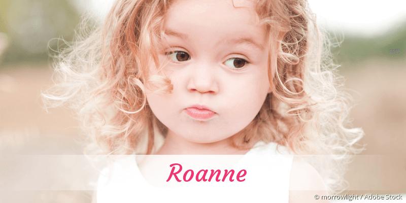 Name Roanne als Bild
