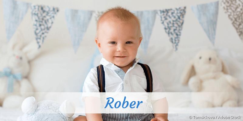Name Rober als Bild