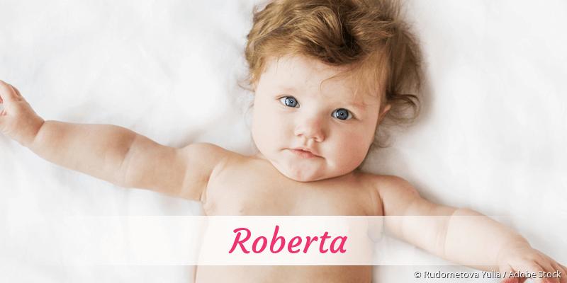 Name Roberta als Bild