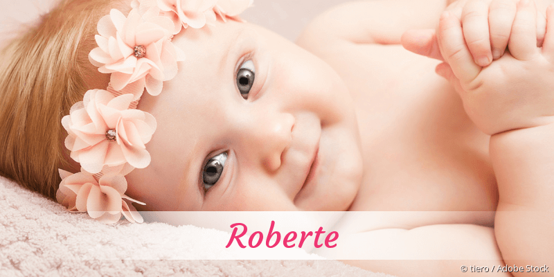 Name Roberte als Bild