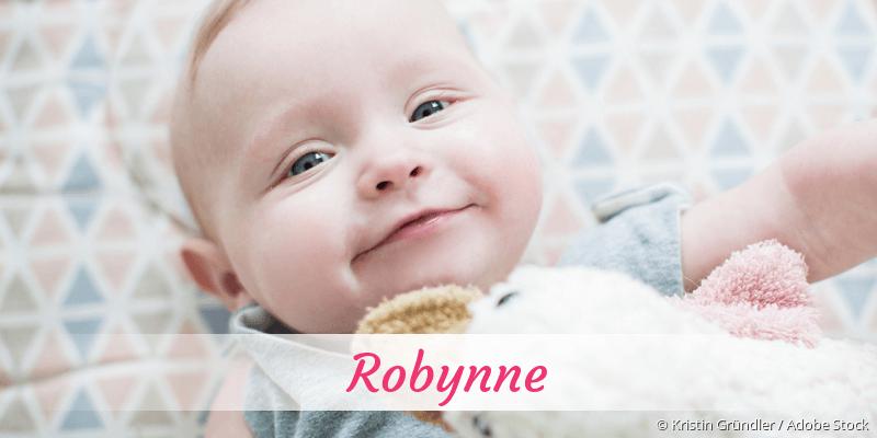 Name Robynne als Bild