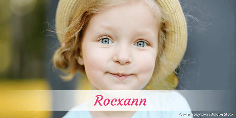 Name Rocxann als Bild