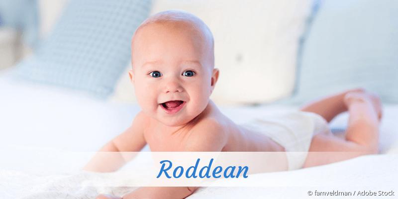 Name Roddean als Bild