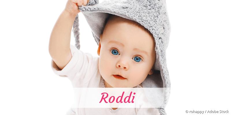 Name Roddi als Bild