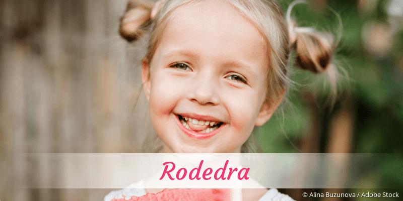Name Rodedra als Bild
