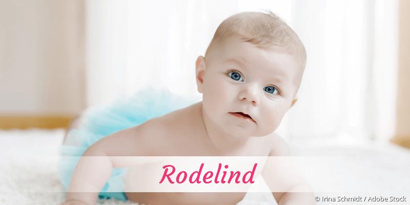 Name Rodelind als Bild