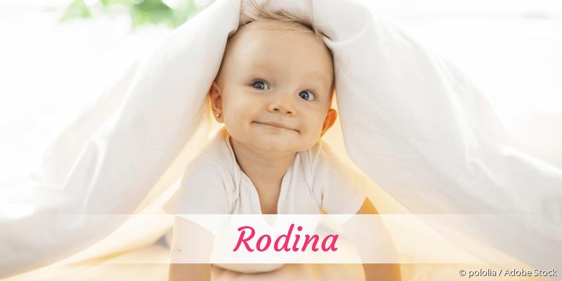 Name Rodina als Bild