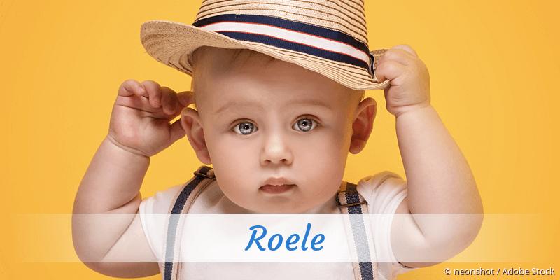 Name Roele als Bild