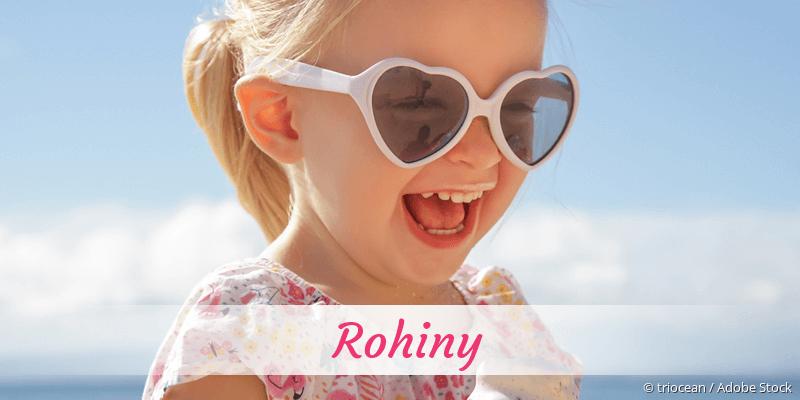 Name Rohiny als Bild