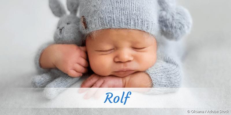Name Rolf als Bild