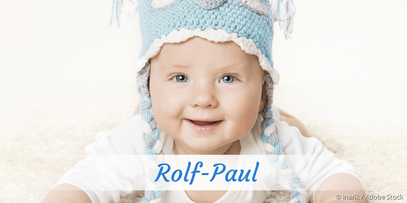 Name Rolf-Paul als Bild