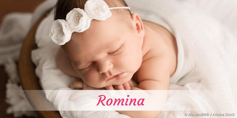 Name Romina als Bild