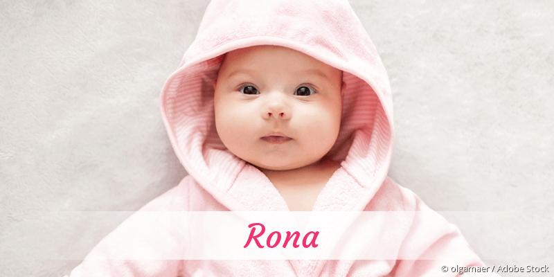 Name Rona als Bild