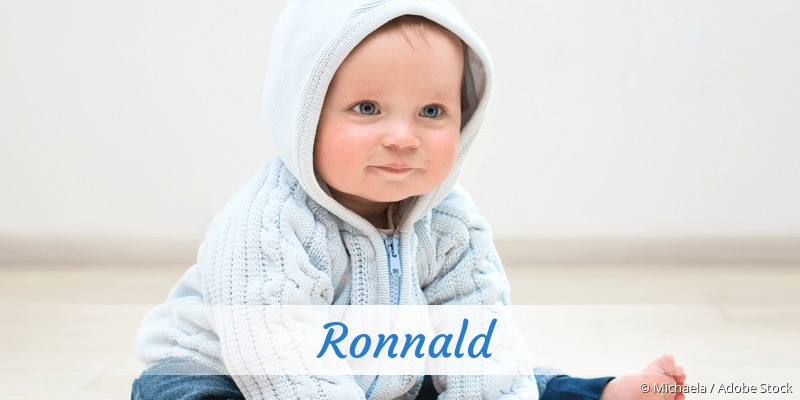 Name Ronnald als Bild