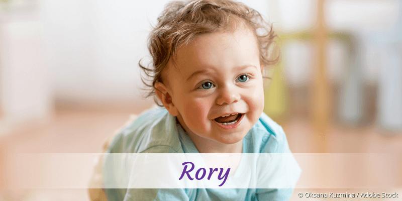 Name Rory als Bild