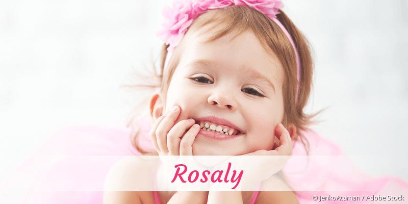 Name Rosaly als Bild