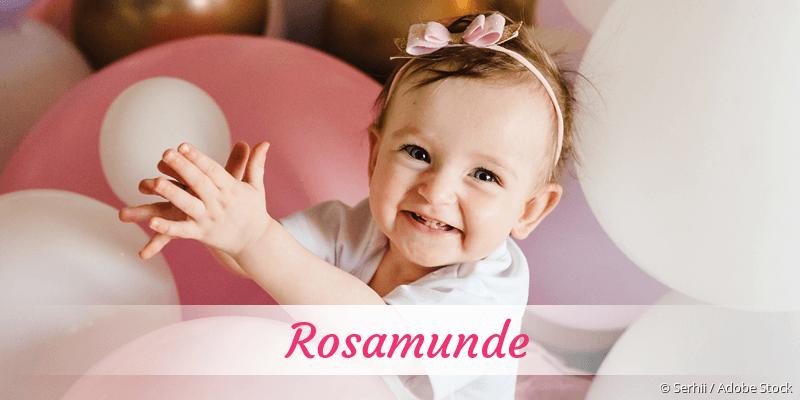Name Rosamunde als Bild