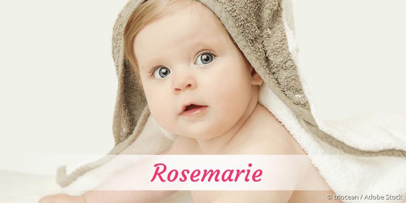 Name Rosemarie als Bild