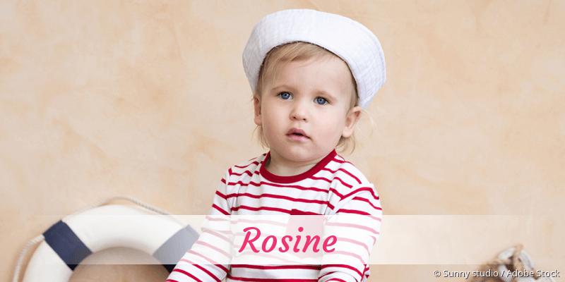 Name Rosine als Bild