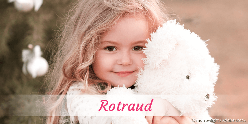 Name Rotraud als Bild