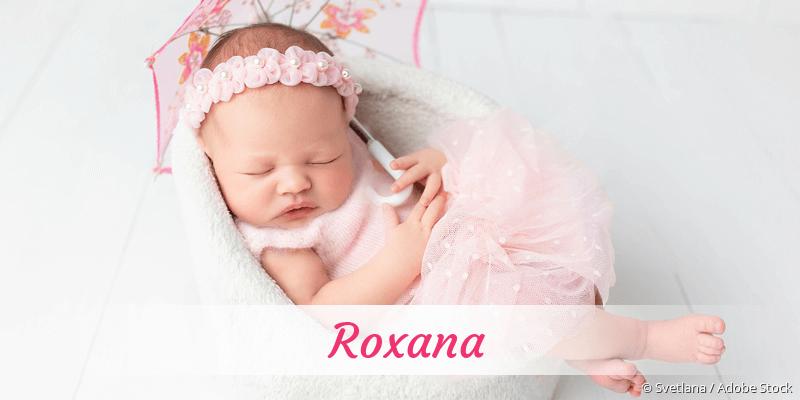 Name Roxana als Bild