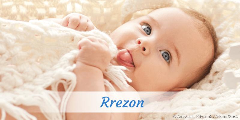 Name Rrezon als Bild