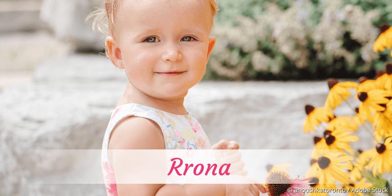 Name Rrona als Bild