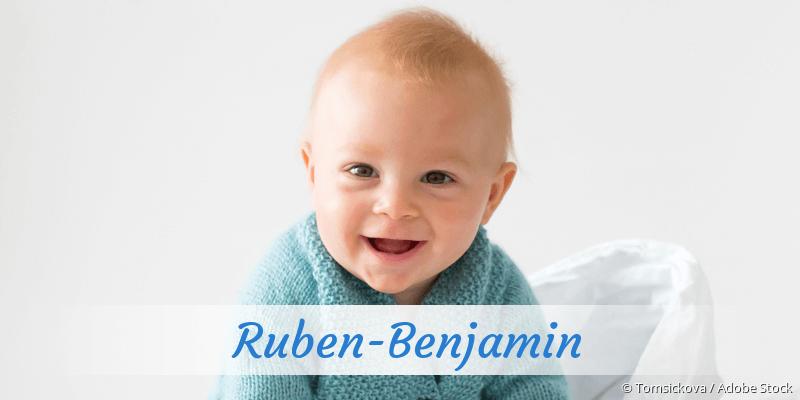 Name Ruben-Benjamin als Bild