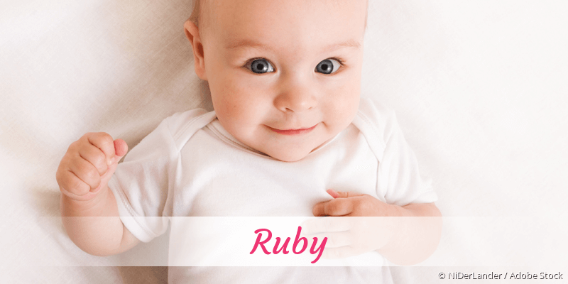 Name Ruby als Bild