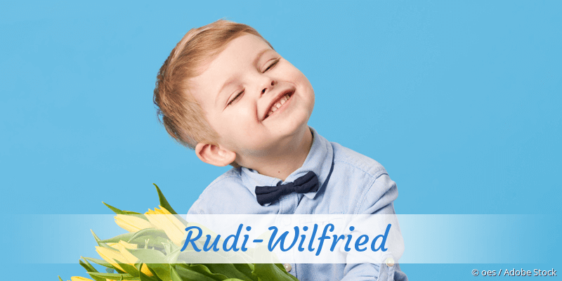 Name Rudi-Wilfried als Bild