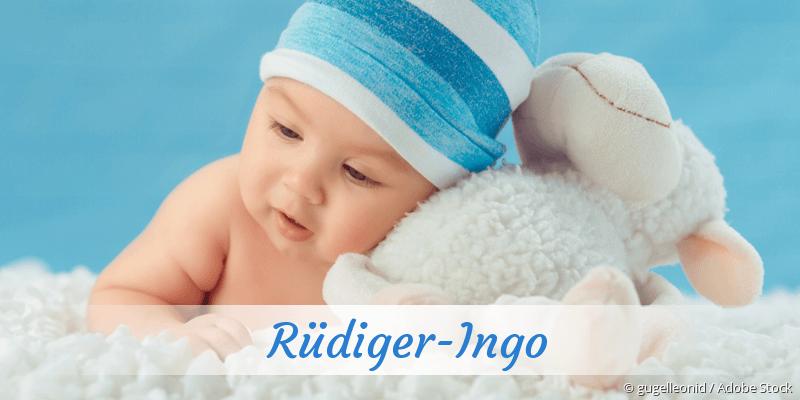 Name Rüdiger-Ingo als Bild