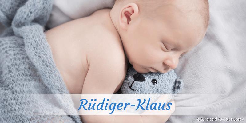 Name Rüdiger-Klaus als Bild