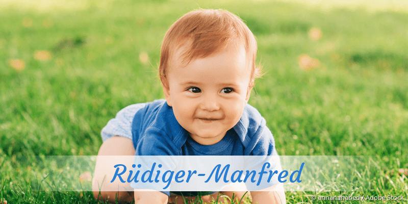 Name Rüdiger-Manfred als Bild