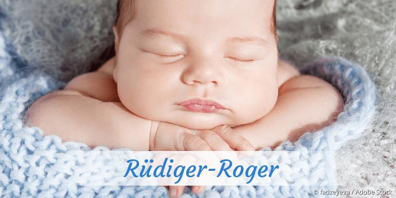 Name Rüdiger-Roger als Bild