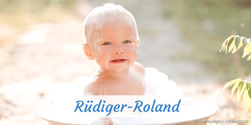 Name Rüdiger-Roland als Bild