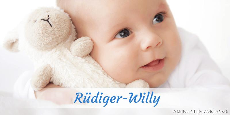Name Rüdiger-Willy als Bild