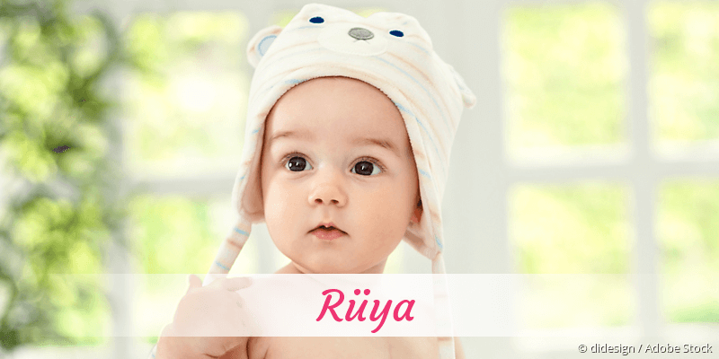 Name Rüya als Bild