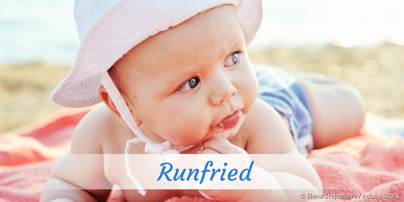 Name Runfried als Bild