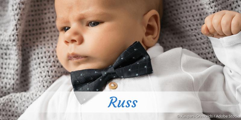Name Russ als Bild
