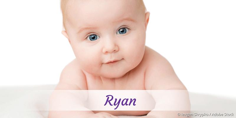 Name Ryan als Bild