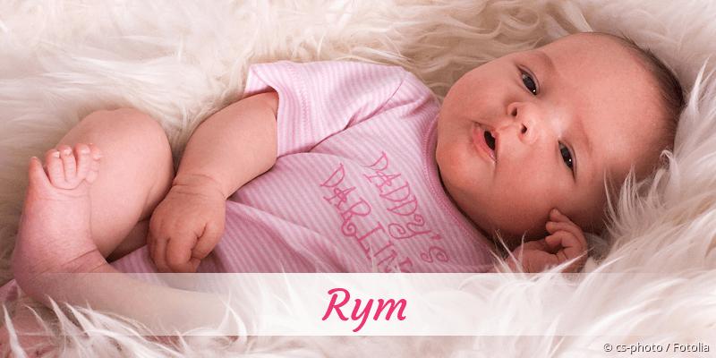 Name Rym als Bild