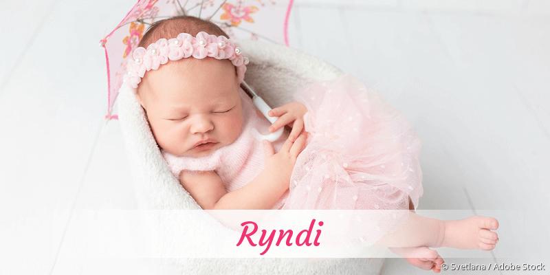 Name Ryndi als Bild