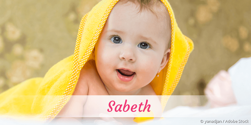 Name Sabeth als Bild