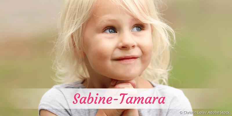 Name Sabine-Tamara als Bild