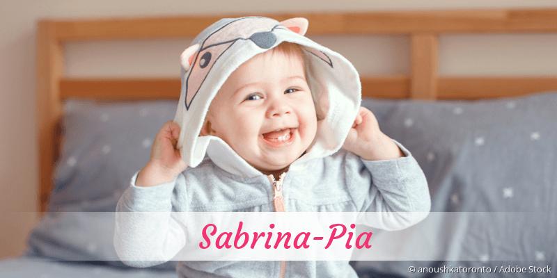 Name Sabrina-Pia als Bild