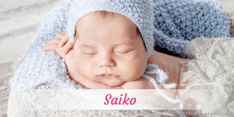 Name Saiko als Bild